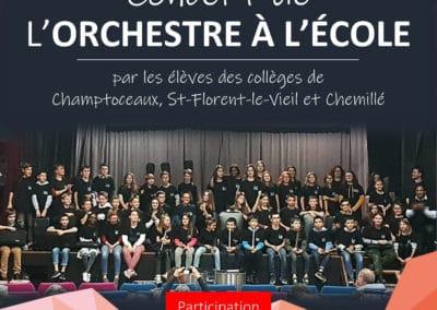 Concert Orchestre À l'École, juin 2019