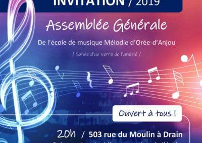 Assemblée Générale, décembre 2019