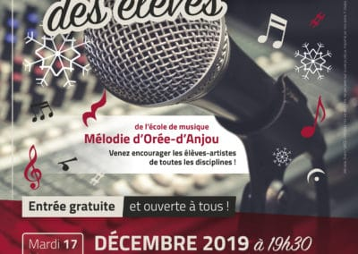 Auditions des élèves, décembre 2019