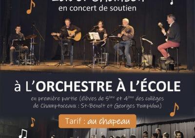 Concert de soutien, avril 2020