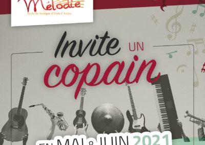 Invite un copain, mai et juin 2021